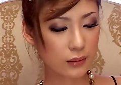 Hottest Japanese slut in Best Blowjob, Cunnilingus JAV clip