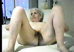 This sex crazed granny is one helluva example of a good slut