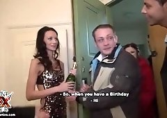 Amazing hard student fuck party