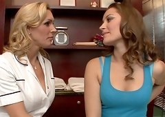 Tanya Tate and Dani Daniels show us what good asslicking is