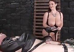 Nice buxomy Angela White