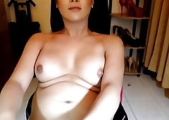 Wunderschöne Shemale Solo Webcam