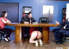 Olivia Austin Is Too Hot To Be In The Office