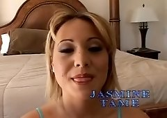 Fabulous pornstar Jasmine Tame in horny swallow, blowjob sex movie