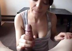 Crazy pornstar Camilla Rhodes in horny amateur, handjobs xxx scene