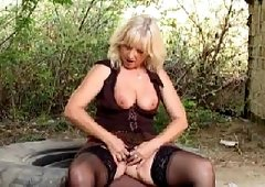 Old granny sex porn anal outdoor