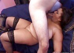 Fat Whore Fucked And Cream Pied @ Big Fat Cream Pie #03