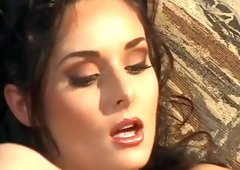 Fabulous pornstar Daniella Rush in incredible facial, cunnilingus xxx movie