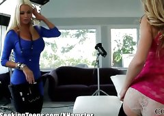 Nikita Von James Young and Old Threesome