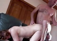 Amateur mature cuckold threesome 3