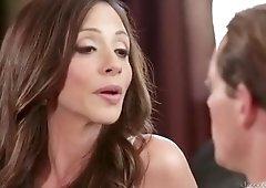 Classy Ariella Ferrera attending in cum shot porn video