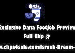 Exclusive Israeli Dream Feet Footjob Clip