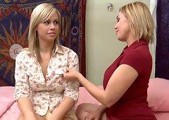 Tara Lynn Foxx unlocks her lesbian desires for the busty milf