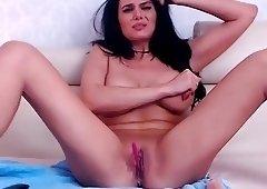 fake-breasted romanian cam-slut