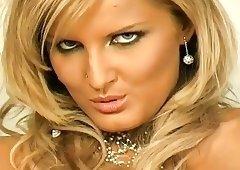 Beautiful blonde girl.
