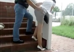 Wife Getting Fucked Outdoor