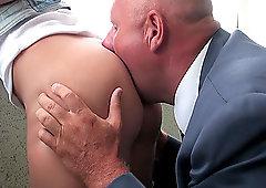 Madlin gets her ass eaten and swallows cum after fucking