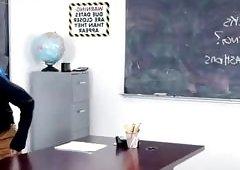 Hot Latina Teacher Mercedes Carrera Fucks Her Nerdy Student