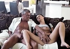 Teen fucks bad girl and wild fucking mature What would you p
