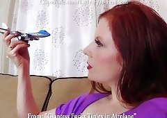 Giantess Captures & Fucks Tinies in Airplane