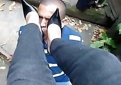 Black High Heels Trample