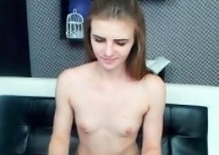 Small Tit Skinny Teen Takes Small Cock In Her Vulva