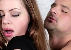 Skinny lady in her high heels is getting her pussy licked a lot