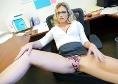 Spy Fam – Step-Son Sexually Harassed By Step-Mom At Work