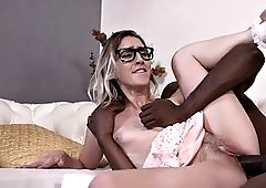 tender minx cadence lux thrashed and facialized by bbc