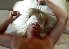 homemade fucking blindfolded blonde