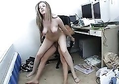Slim babe Haley Scott is eager to show us just how good she is at fucking