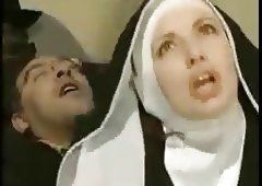 French Nun like Bum Fuck