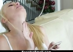 Heavenly scraggy lady getting fucked hard