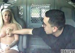 Teen is Punished in the van