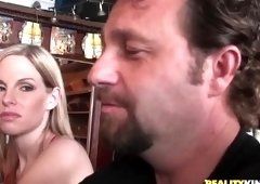 Ejaculation sex video featuring Hunter and Aimee Addison