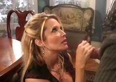 Jessica Drake fucks in a sexy corset and gets a facial