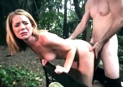 Sexy black rough and extreme triple penetration Raylin Ann i