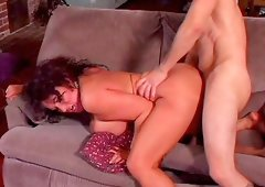 Big titty mature Ashley Evans was hammered in positions outdoor sex.