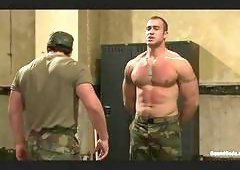 Fun Military Guys At Naked Party Gay