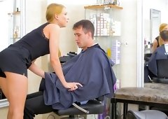 Barber shop anal extreme with Lucy Heart