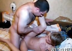 Short Hair Gay Porn