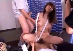 Amazing Japanese chick Yuma Asami in Best Public, Gangbang JAV video