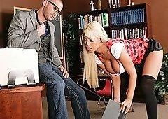 Dick Lesson With Bridgette