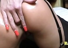 Fine-looking buxomy Kada Love getting asshole fucked