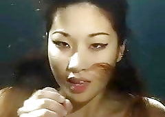 Asian underwater blowjob