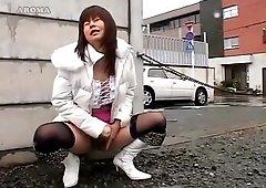 Amazing Japanese slut Shion Natsume, Reiko Naho, Mikami Syoko in Crazy Outdoor, Dildos/Toys JAV movie