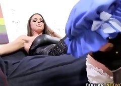 Sugar brunette Brooklyn Chase got drilled very hard