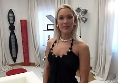 Hungarian 20 yo chick Cecilia Scott gives her head and gets her slit rammed