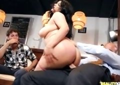 Busty Latina Beauty Has A Thick Ass And Cock-sucking Lips