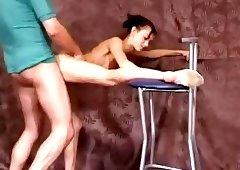 Fucking gymnast